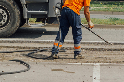 Asphalt Paving & Sealcoating of Houston - Asphalt Repair 1